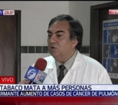 Alarmante aumento de casos de cáncer de pulmón
