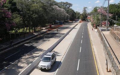 Habilitan circulación vehicular en zona del metrobús en San Lorenzo