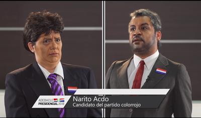 Narito y Esfraín tuvieron el debate más kachiãi de la TV