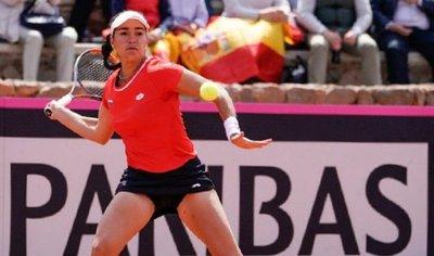 Montserrat González dio pelea pero no pudo vencer a Muguruza