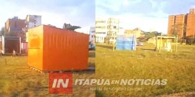 CONFLICTO: CONSTRUCCIÓN DE CASILLAS EN ÁREA VERDE