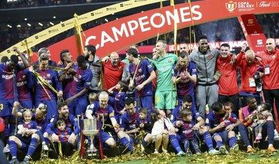 El Barcelona recupera la excelencia y revalida la corona