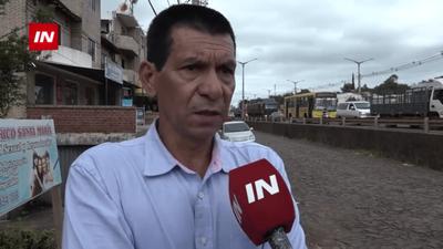 BOMBERO SUFRIÓ CAÍDA DE ALTURA Y ENCUENTRA INTERNADO