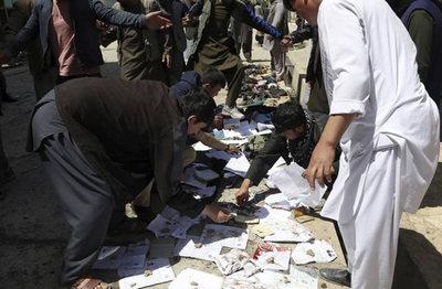 Al menos 52 muertos en un atentado suicida en Kabul