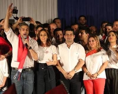 """Marito y el discurso de la victoria: """"se acabaron las divisiones estériles"""""""
