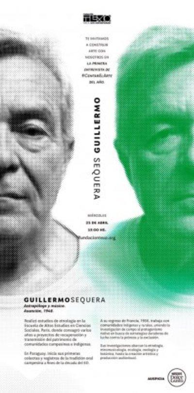 Nuevo ciclo de Contar El Arte será con Guillermo Sequera