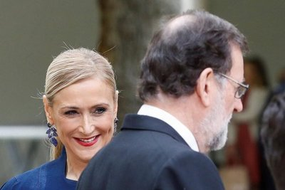 Acusan a presidenta de Madrid de hurtar en un súper