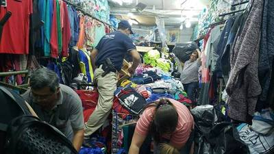 Sucesivos allanamientos en el Mercado 4 de Asunción