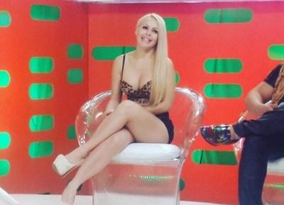 """Fiscalía acusa por """"pornografía infantil y actos exhibicionistas"""" a Perla Alegre"""