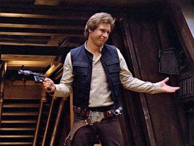 Subastan por primera vez la pistola de Han Solo en El Retorno del Jedi