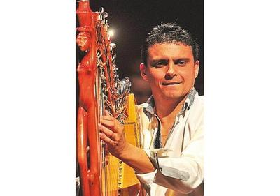 Arpa paraguaya suena en festival de Brasil