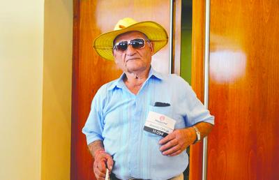 Don Arcenio, el abuelito que quiere ser el MasterChef