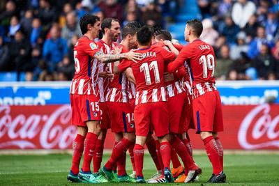 Atlético Madrid festejó con lo justo ante Alavés