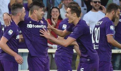 Fiorentina aleja al Napoli  de la lucha por el scudetto