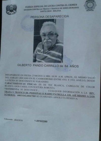 Paraguayo desaparecido en Bolivia