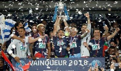 El PSG gana la Copa de Francia ante un club de tercera categoría