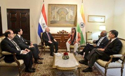 India, interesado en vínculos energético con Paraguay