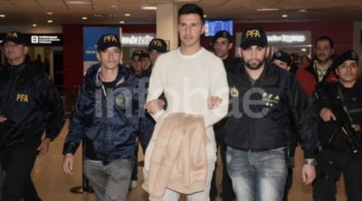 HOY / Fabbro ya está en Argentina para enfrentar cargo de abuso sexual