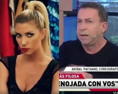 Anibal Pachano destroza a Carmiña Masi en televisión argentina