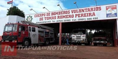 BOMBEROS DE TRP REALIZARON SU ASAMBLEA