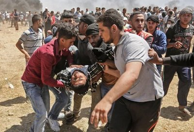 Al menos 37 palestinos mueren en Gaza