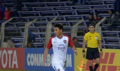 Santiago Arzamendia es el más recuperador de la Copa Libertadores