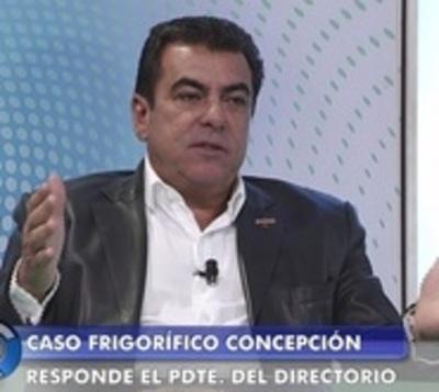 """Presidente de Frigorífico Concepción: """"Esa carne era de calidad"""""""