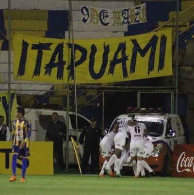 Guaraní triunfó de visita ante Luqueño