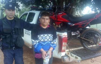 Detienen a sujeto con biciclo robado