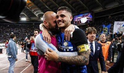 Icardi y Vecino meten al Inter en la Champions y hunden al Lazio