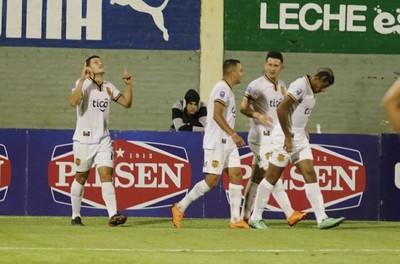 AUDIO: El gol de Rodrigo Bogarín para el festejo de Guaraní en Luque