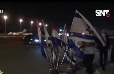 Horacio Cartes de visita oficial en Israel