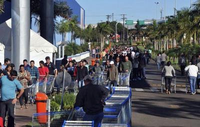 Quieren free shops en ciudades de  frontera con Brasil