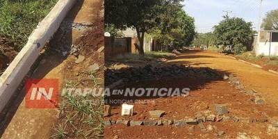 JUNTA MUNICIPAL AGUARDA EXPLICACIÓN SOBRE EMPEDRADOS ''FANTASMAS''