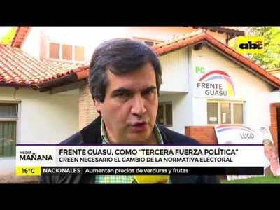 Frente Guasu analiza elecciones en plenaria