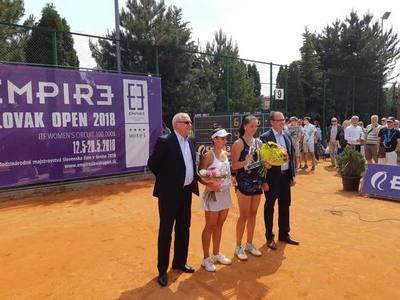 Vero cayó en la final del ITF eslovaco