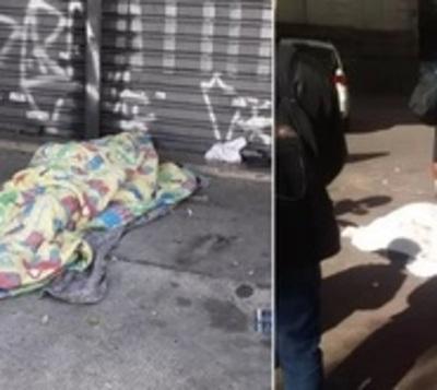 La noche más fría deja dos muertos en São Paulo