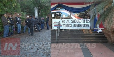RECHAZAN PROYECTO DE LEY QUE AFECTA JUBILACIONES Y PENSIONES DE TRABAJADORES.