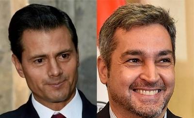 HOY / Peña Nieto felicita a Marito y le desea éxitos en su gestión