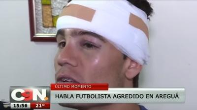 Futbolista agredido relata lo que sufrió durante pelea