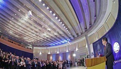 Jerusalén: Cartes ayer inauguró la embajada