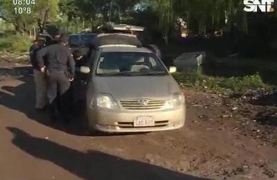 Delincuentes huyen a balazos de la acción policial en La Chacarita
