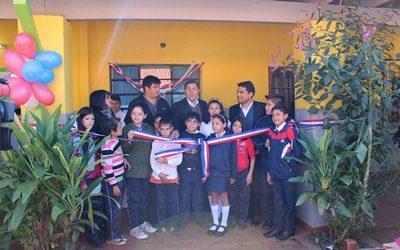 Inauguran mejoras en escuela de 3 Fronteras