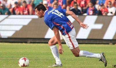 Topo Cáceres se reestrenó con un gol en la Reserva