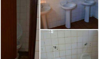 """Inauguran baño """"sin lavar"""" en un colegio de Hernandarias"""