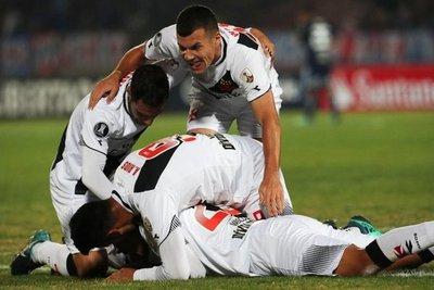 Vasco clasificó a la Sudamericana
