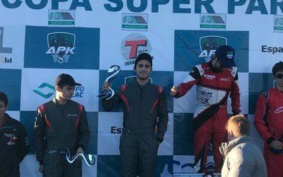 Franqueño sube al podio en competencia internacional de karting