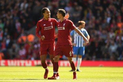 Liverpool lleva ventaja en duelos europeos