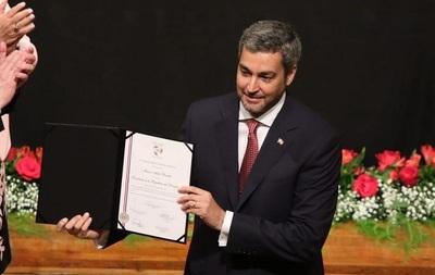 En proclamación, Marito pone como bandera lucha contra la impunidad