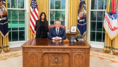 HOY / Kim Kardashian llega hasta la Casa Blanca para reunirse con Donald Trump